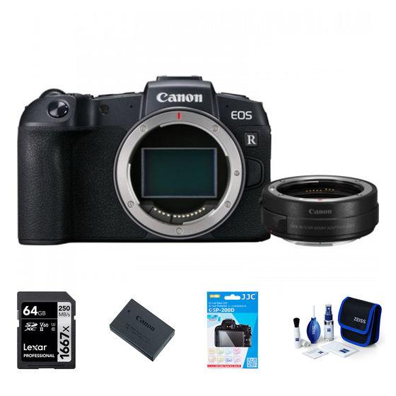 Canon EOS RP tělo + EF-EOS R adaptér - Foto kit
