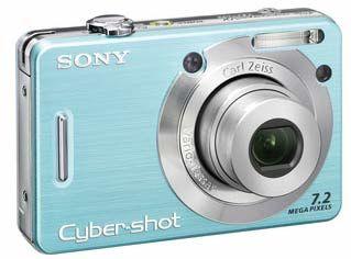 Sony DSC-W55 modrý
