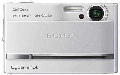 Sony DSC-T9 stříbrný