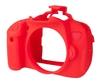 EasyCover silikonové pouzdro pro Canon EOS 650D červené