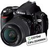Nikon D40X + AF-S 18-55 mm II DX + AF-S 55-200 mm DX VR