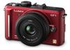 Panasonic Lumix DMC-GF1 červený + G Vario 20 mm