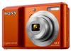 Sony CyberShot DSC-S2100 oranžový