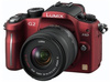 Panasonic Lumix DMC-G2 červený + 14-42 mm