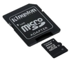 Kingston Micro SD (SDHC Class 10) 4GB karta + adaptér SD