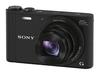 Sony CyberShot DSC-WX350 černý + 16GB Class 10 + originální pouzdro + náhradní akumulátor!