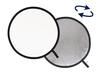 Lastolite odrazná deska kulatá 30cm stříbrná/bílá