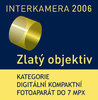 Mju 720 SW - Zlatý objektiv 2006