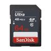 Sandisk SDXC 64GB Ultra 48MB/s Class 10 UHS-I