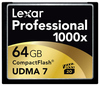 Lexar CF 64GB 1000x Professional