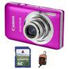Canon IXUS 115 HS růžový + 4GB karta + pouzdro DF11 zdarma!