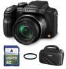 Panasonic Lumix DMC-FZ48 + 8GB karta + brašna DVF 80+ filtr UV 52mm!