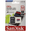 SanDisk Micro SDXC 64GB ULTRA 100 MB/s A1 Class 10 UHS-I Android + Adaptér