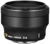 Nikon 1 32mm f/1,2 NIKKOR černý