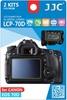 JJC ochranná folie LCD LCP-70D pro Canon EOS 70D a 80D