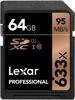 Lexar SDXC 64GB 633x, class 10, UHS-I