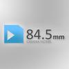 84.5mm