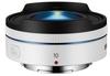 Samsung NX 10mm f/3,5 bílý