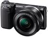 Sony NEX-5T + 16-50 mm