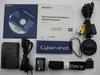 Obsah balení Sony CyberShot DSC-HX1