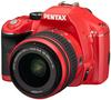 Pentax K-x červený + 18-55 mm