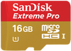SanDisk Micro SDHC 16GB Extreme Pro 95 MB/s Class 10 UHS-I + Adaptér