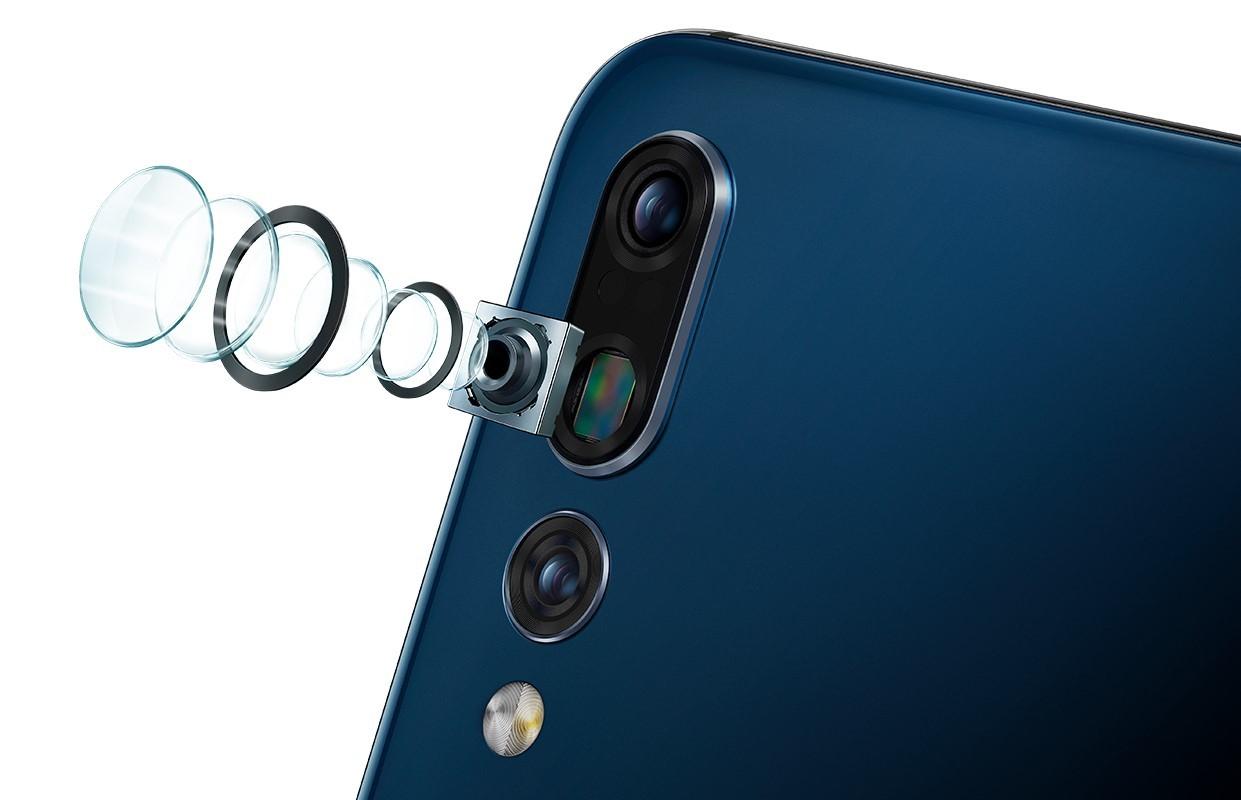 Huawei P20 Pro struktura fotoaparátu
