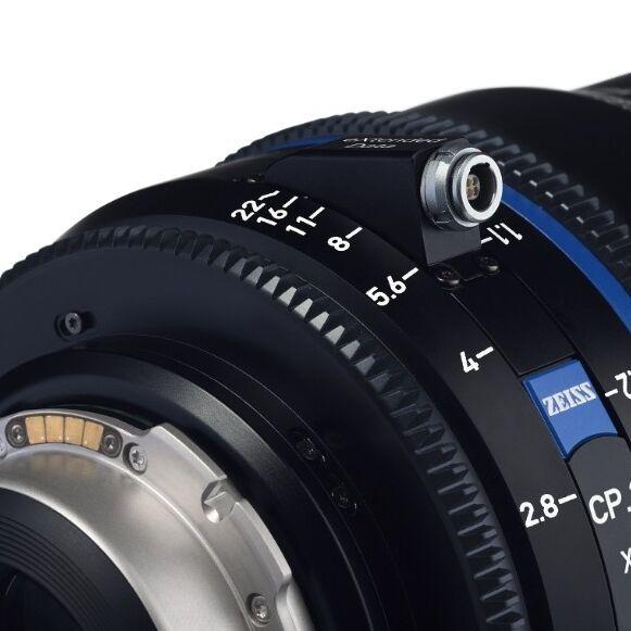 Nová řada filmařských objektivů Zeiss CP.3 XD