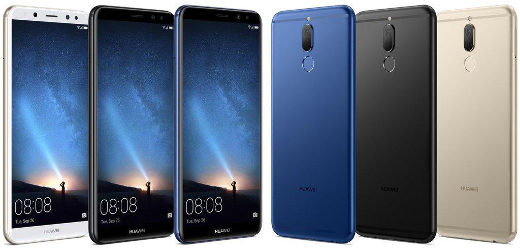 Huawei Mate 10 Lite barvy
