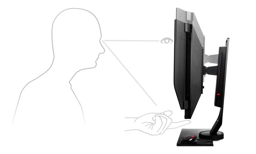 BenQ Zowie XL2546 ergonomie