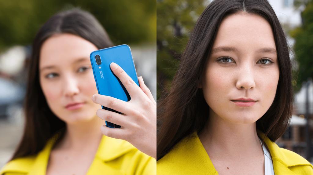 Huawei P20 Lite selfie