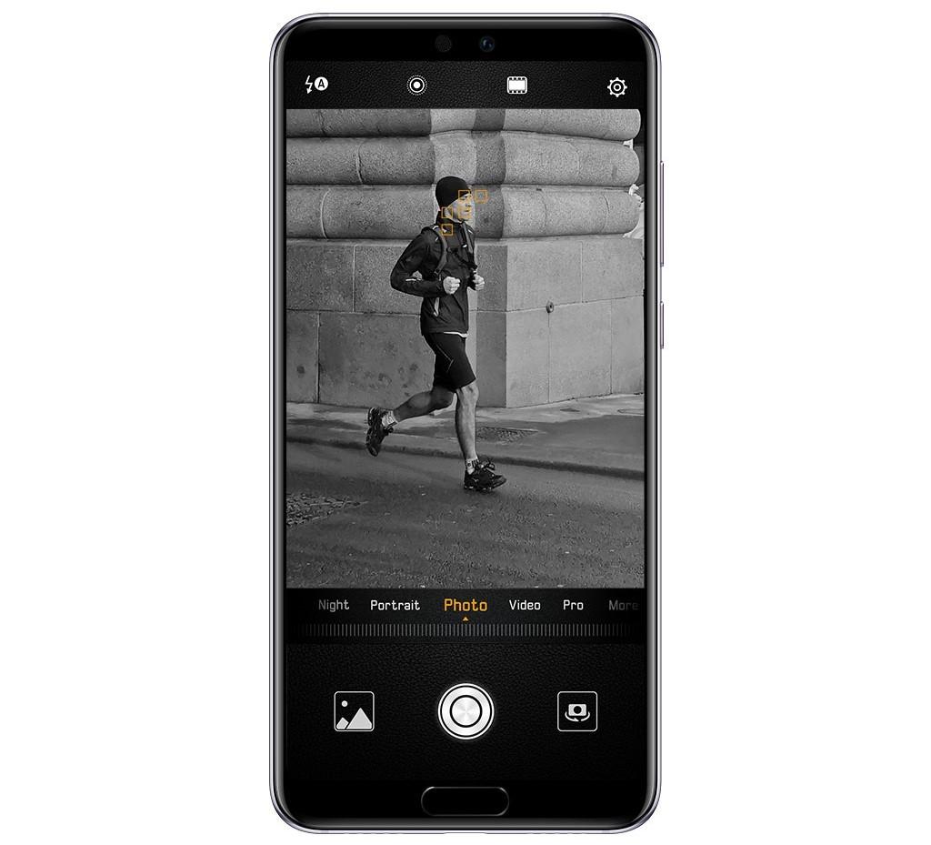 Huawei P20 4D ostření