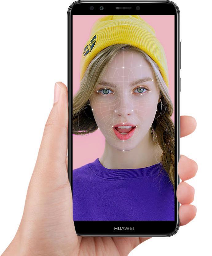 Huawei Y7 Prime 2018 odemykání obličejem