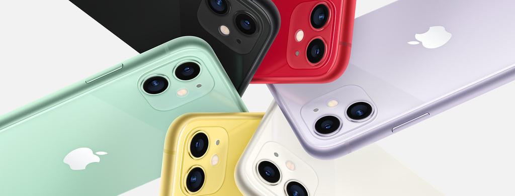 iPhone 11 barevné varianty