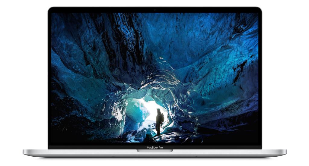 Apple Macbook Pro 16 displej