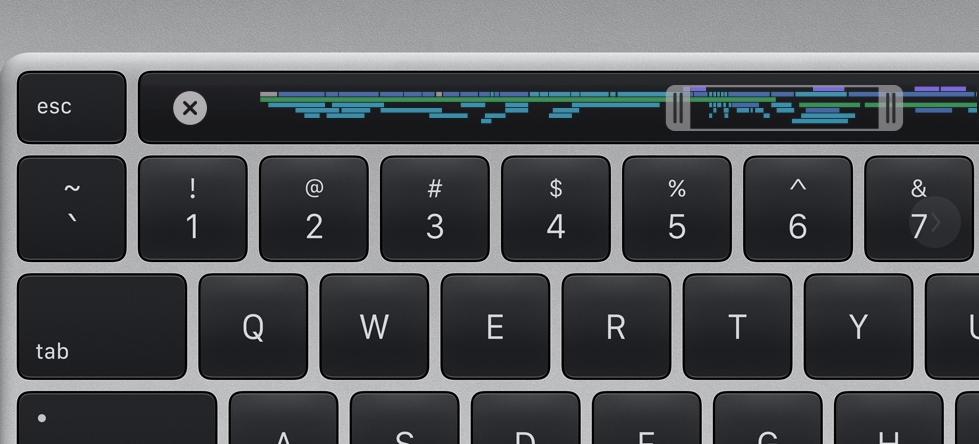 Apple Macbook Pro 16 klávesnice