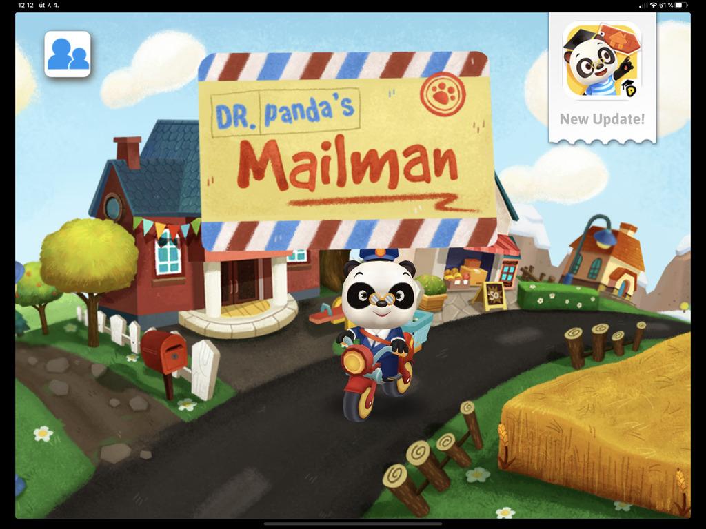 Dr. Panda pošťák