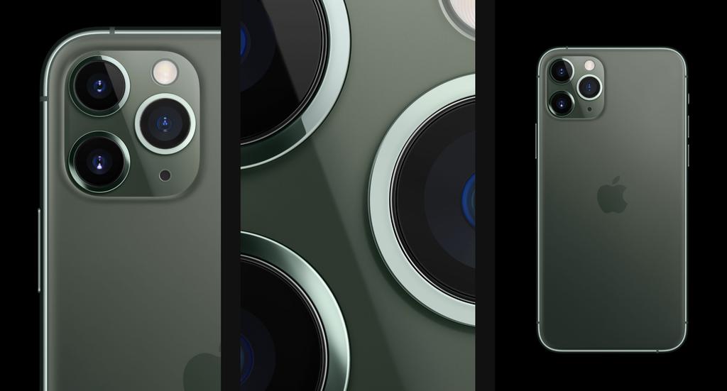 Apple iPhone 11 Pro fotosoustava