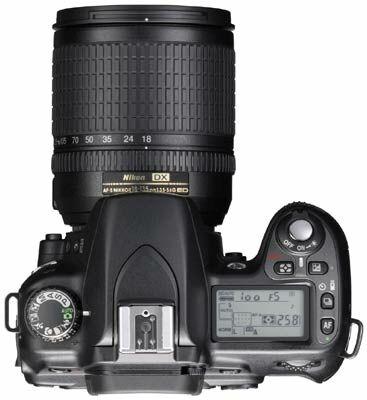 Nikon D80 a Olympus E-400!
