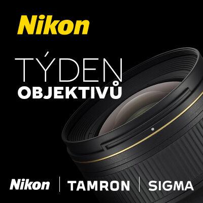 V pondělí startuje týden objektivů pro Nikon!