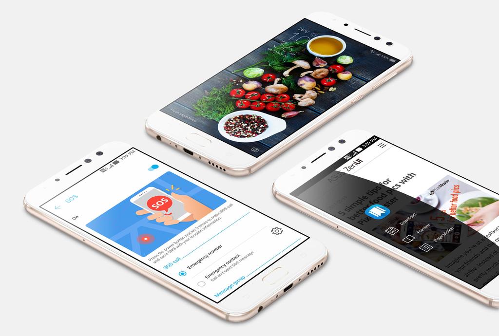 Asus Zenfone 4 Selfie Pro ZenUI