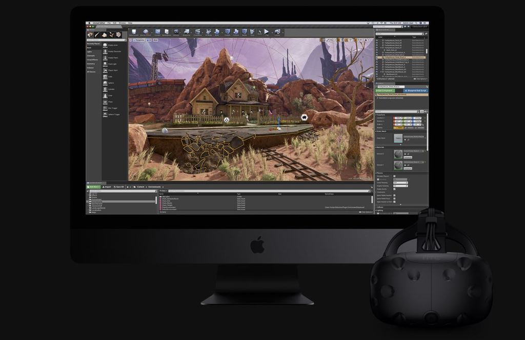 Apple iMac Pro grafická karta