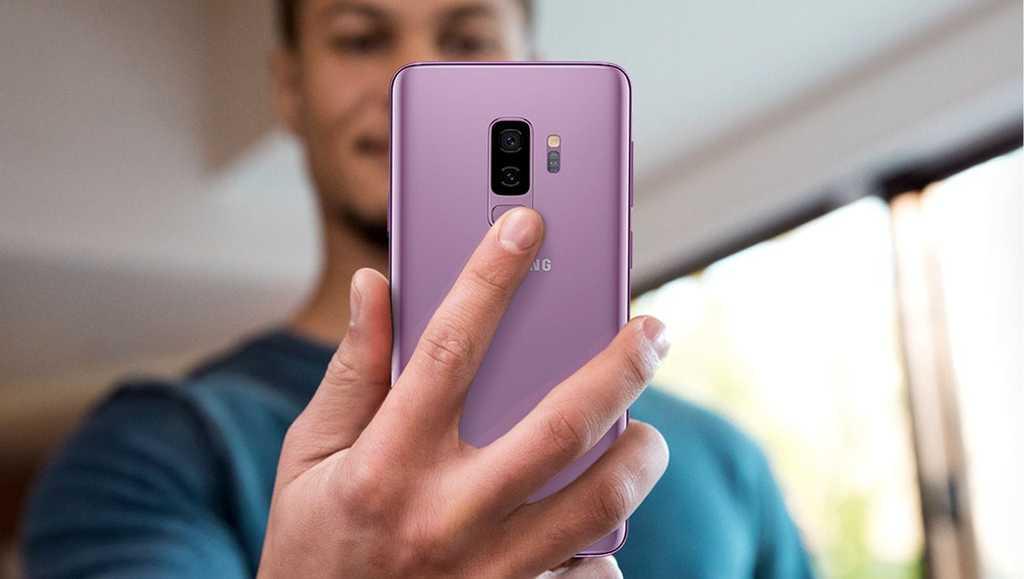 Samsung Galaxy S9 a S9+ čtečka otisků