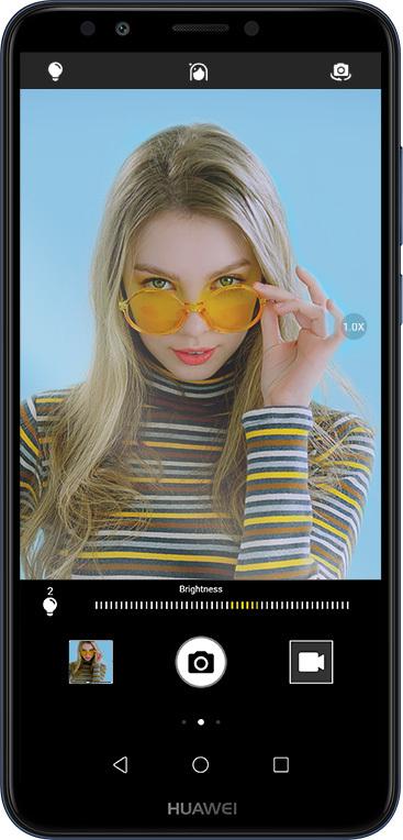 Huawei Y7 Prime 2018 selfie