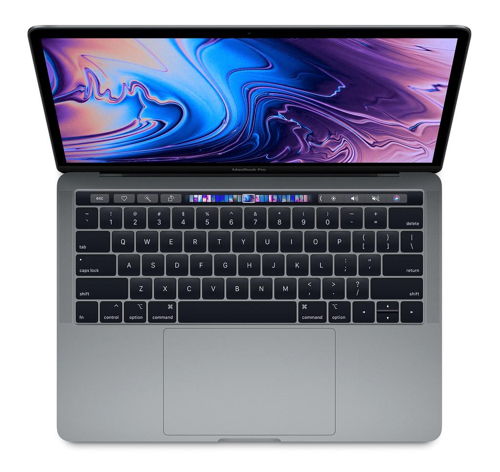 """Apple MacBook Pro 13"""" 128GB 1,4GHz (2019) s Touch barem šedý"""