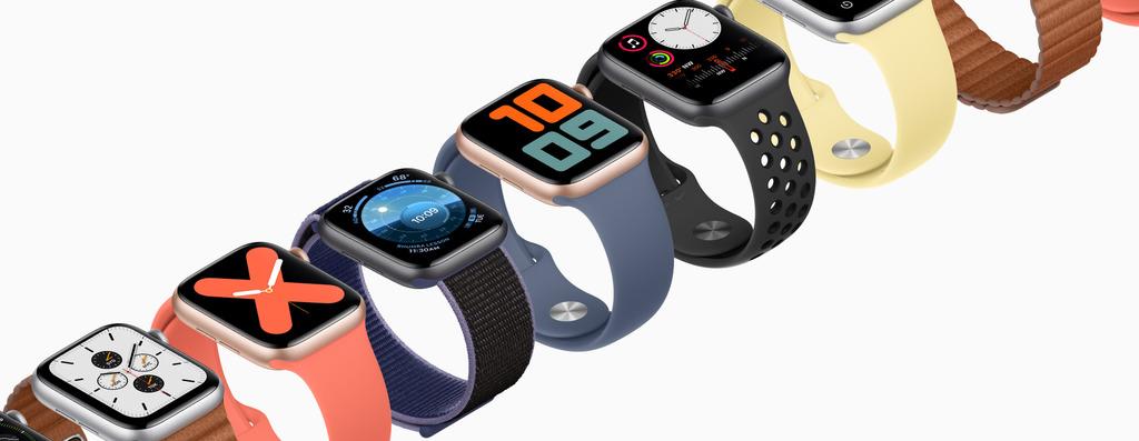 Apple Watch Series 5 design