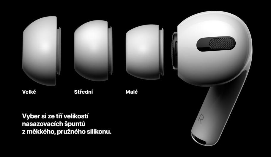 Apple Airpods Pro špunty