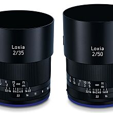 Zeiss Loxia 2/35 a 2/50 - dva špičkové objektivy s bajonetem Sony E