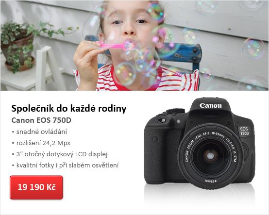 Digitální zrcadlovka Canon EOS 750D tělo