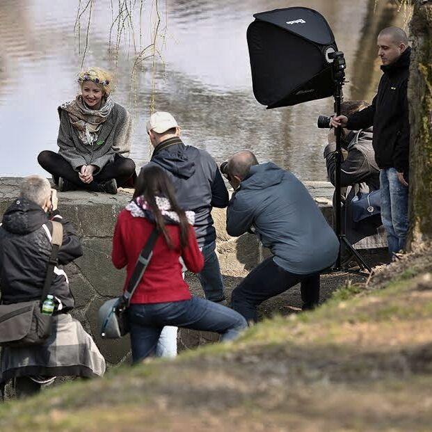 Pojďte fotit portrét do Stromovky